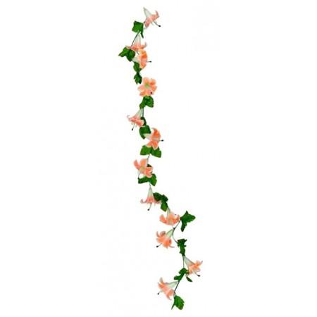 Guirlande de fleurs exotiques / Long. 220 cm
