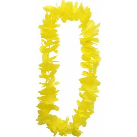 Collier de fleurs jaunes - tergal