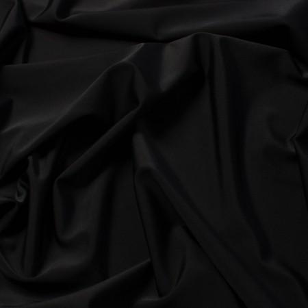 Tissu Lycra Noir - Larg. 150cm  (vendu au mètre)*