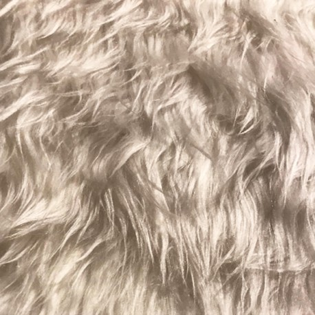 Tissu fourrure -  Larg. 150 cm   (vendu au mètre)