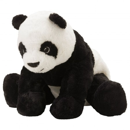 Panda - peluche - 45 x 43cm