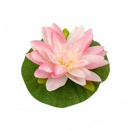 Fleur de lotus rose - tergal et pvc diam 22 m