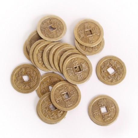 Sachet de 20 Pièces Porte Bonheur - metal - diam 4cm