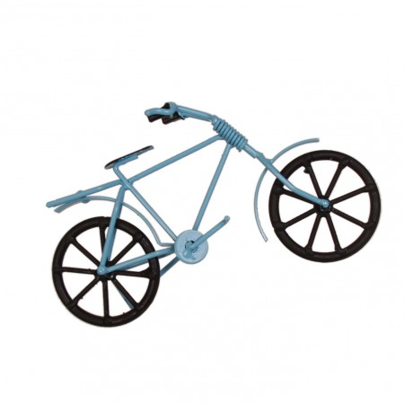 Vélo miniature en métal - différents modèles - 19 X 12 cm