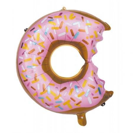 Ballon mylar Donuts - aluminium - diam 66 cm