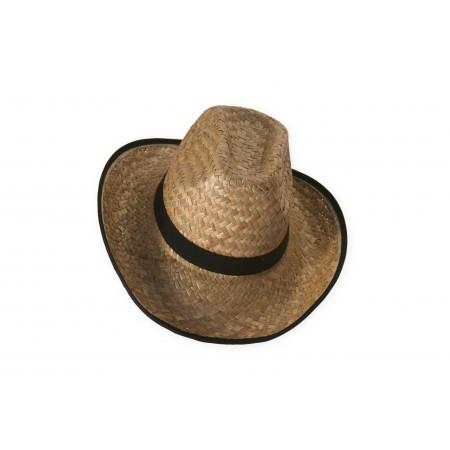 Chapeau Cow boy - paille - taille adulte