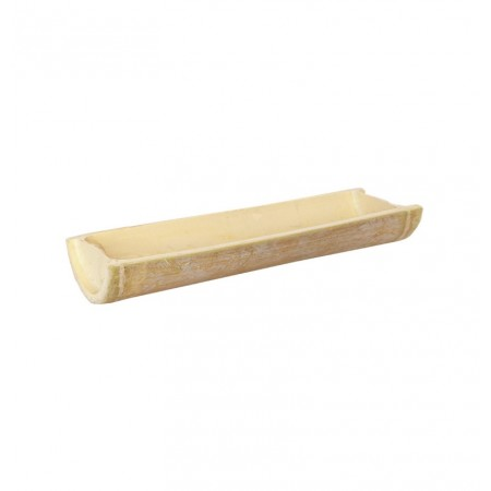 Support bambou - bois - 28 x 9,5 x 4 cm
