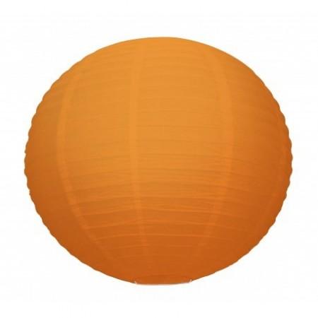 Lampion boule papier Orange – Diam 35 cm