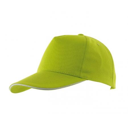 Casquette verte - coton - taille adulte