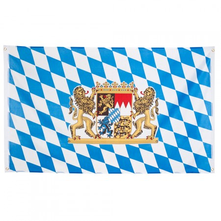 Drapeau bavarois 90 x 150 cm - polyester