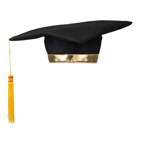 Chapeau de Lauréat - polyester - larg 31 cm