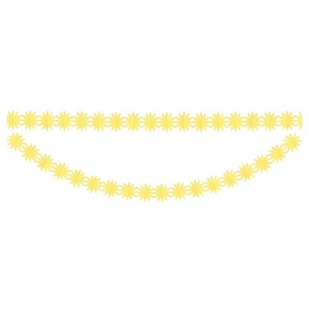 Guirlande soleils - papier - Long. 300cm