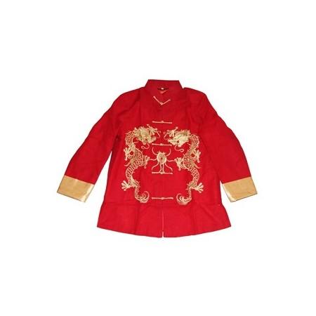 Veste Asie rouge - taille L