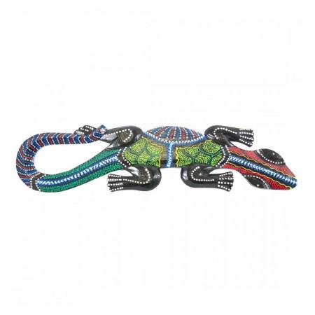 Gecko - Bois - Long. 48cm