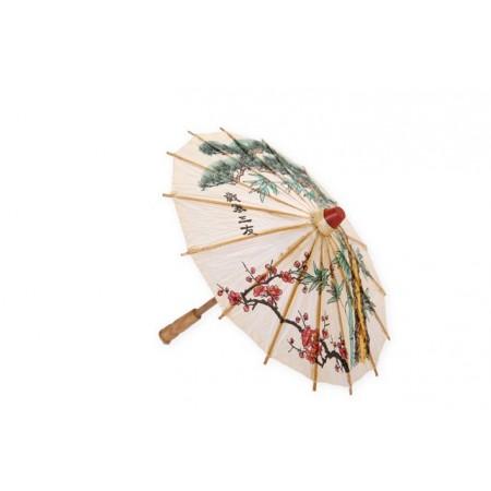 Ombrelle - bambou/papier - Diam. 84cm