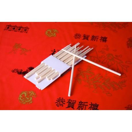 Sachet de 10 paires de  baguettes - bambou