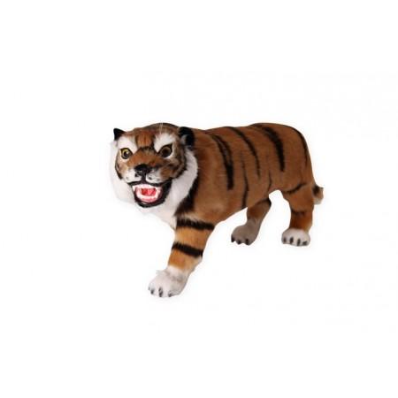Tigre - poils -  Long. 58cm H. 26cm