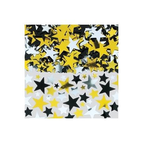 Sachet de confetti d'étoiles