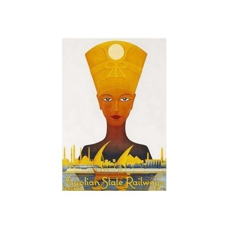 """Affiche """"Néfertiti"""" - 50 x 70cm"""