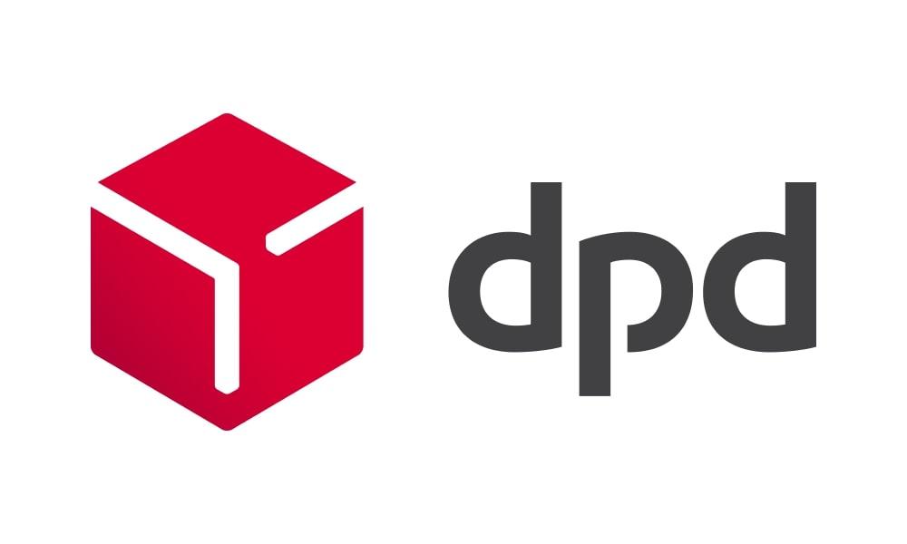 logo dpd rouge noir fond blanc